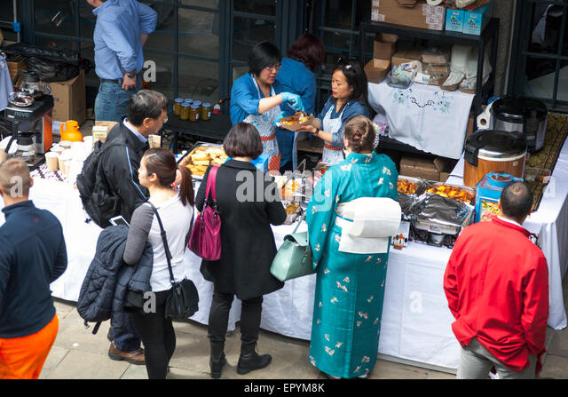 16th May 2015 - FestivalAsia in Tobacco Docks, London - a festival celebrating Asian cultures, arts and cuisine - Stock-Bilder
