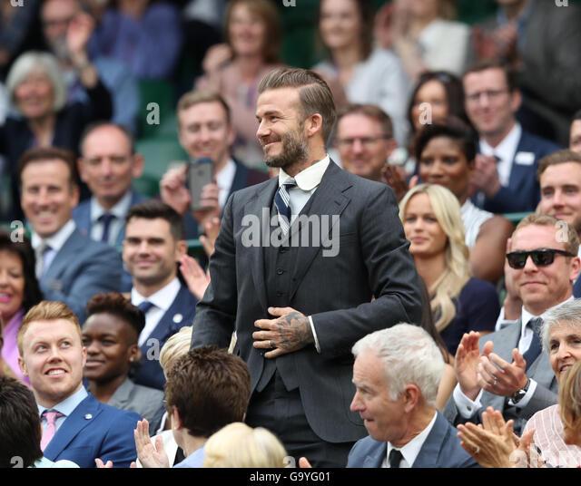 Wimbledon, London, UK. 02nd July, 2016. All England Lawn Tennis and Croquet Club, London, England. The Wimbledon - Stock Image