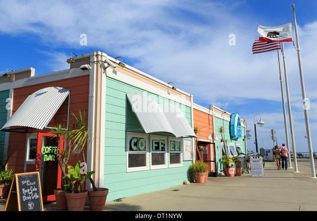 Municipal Wharf, Santa Cruz, California, United States of America, North America - Stock-Bilder