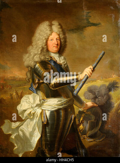 Louis de France, Dauphin (1661-1711) circa 1688 - Stock-Bilder