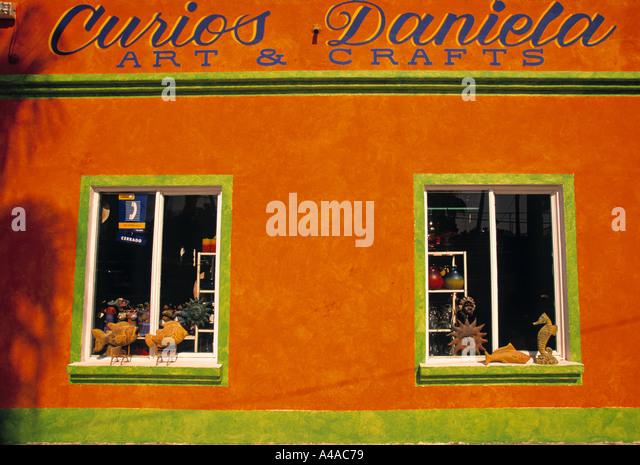 Shop, San Jose del Cabo, Mexico - Stock Image