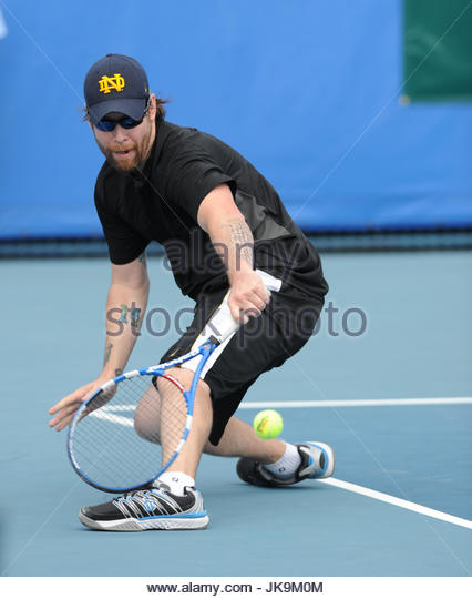 David Cook. Kevin McKidd participates in the Chris Evert/Raymond James Pro-Celebrity Tennis Classic at Delray Beach - Stock Image
