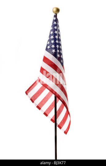 small american flag - Stock Image