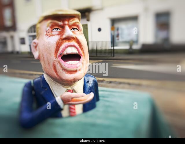 Figure of Donald Trump - Stock Image