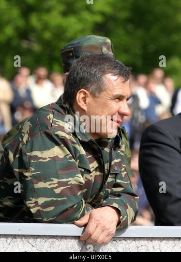 Prime Minister of Tatarstan Rustam Minnikhanov - Stock Image