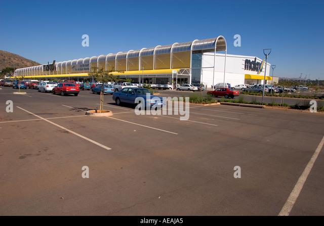 Pretoria City Makro shopping centre - Stock Image