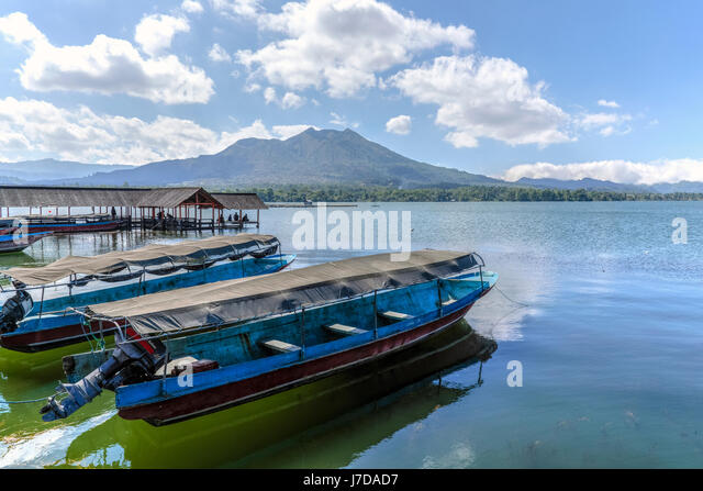 Danau Batur, Bali, Indonesia, Asia - Stock-Bilder