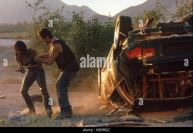 The Fast and the Furious, (THE FAST AND THE FURIOUS) USA 2001, Regie: Rob Cohen, JORDANA BREWSTER, PAUL WALKER, - Stock Image