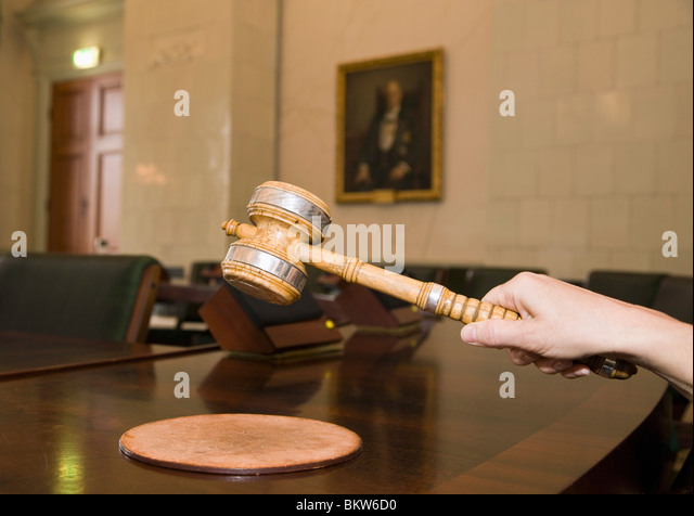 Chairmen gavel - Stock Image