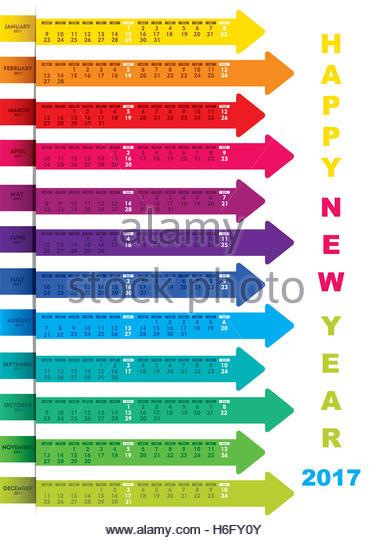 Calendar Design Using Photo : Calendar stock photos images