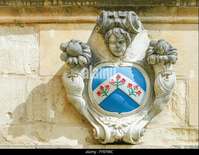 Brome United Kingdom  city photos : Emblem at Oxford university's Oriel college formerly known as King's ...