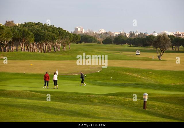 Oceânico Laguna Golf Course, Vilamoura, Portugal. - Stock Image