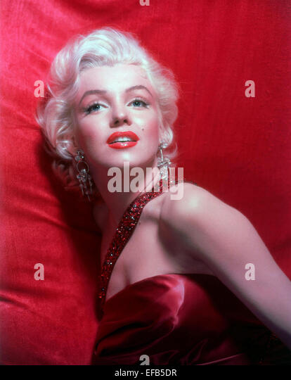 MARILYN MONROE HOW TO MARRY A MILLIONAIRE (1953) - Stock Image