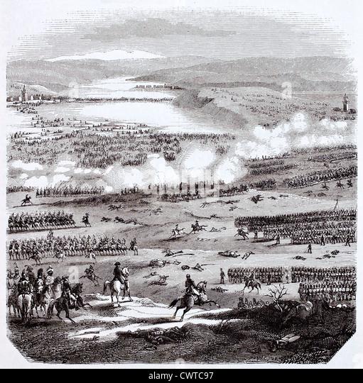 Battle of Austerlitz - Stock Image