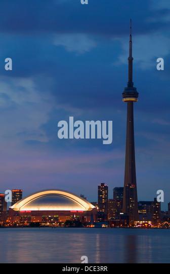 Toronto Skyline At Twilight - Stock Image