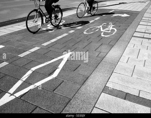 People biking - Stock Image