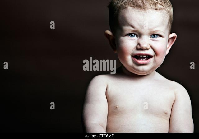 Infant Upset - Stock Image