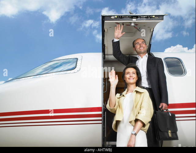 Rich Woman Private Jet Stock Photos Amp Rich Woman Private Jet Stock Images