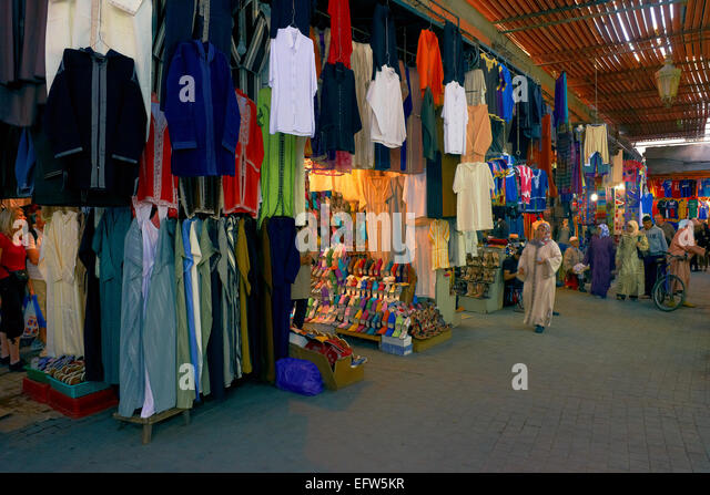 Marrakech clothing store