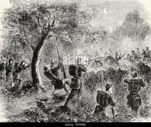 Skirmish civil war