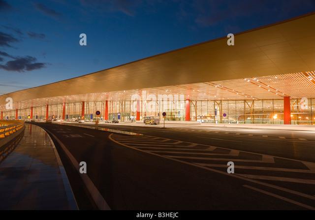 China,Beijing ,Airport,T3 - Stock Image