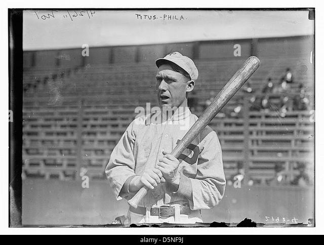 [John Titus, Philadelphia, NL (baseball)] (LOC) - Stock Image