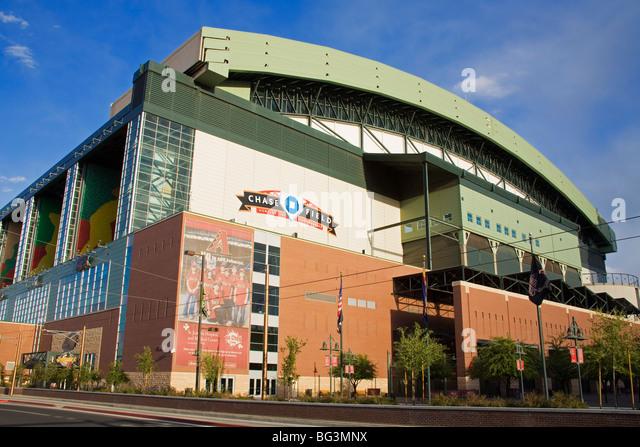 Chase Field Baseball Park, Phoenix, Arizona, United States of America, North America - Stock Image