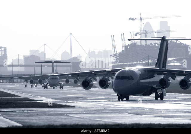 London City Airport - Stock Image