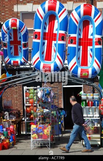 Weymouth seaside shop - Stock Image