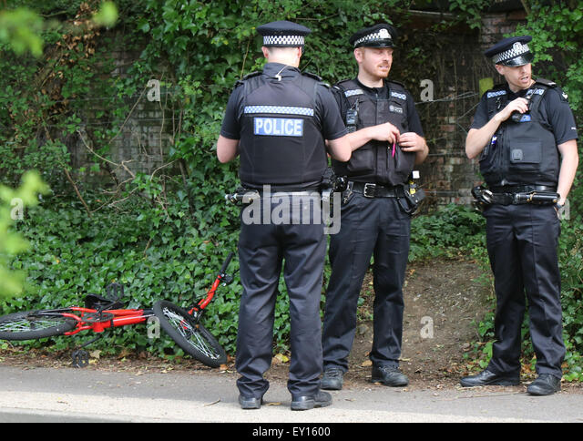 FILE PICS: Havant, UK. 26th June, 2015. Pictures from Scene of Double Stabbing in Havant Sunday 19 July 2015 : A - Stock Image