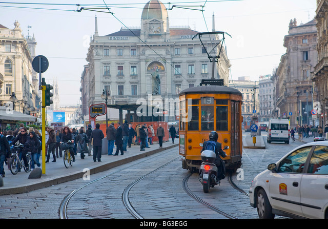 Milan, Lombardy, Italy, Europe - Stock Image