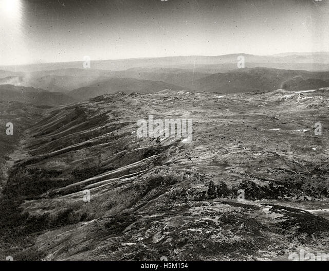 Kosciusko Summit - 11 March 1937 - Stock Image