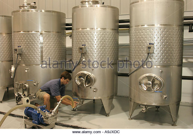 Alabama Harpersville Morgan Creek Vineyards - Stock Image