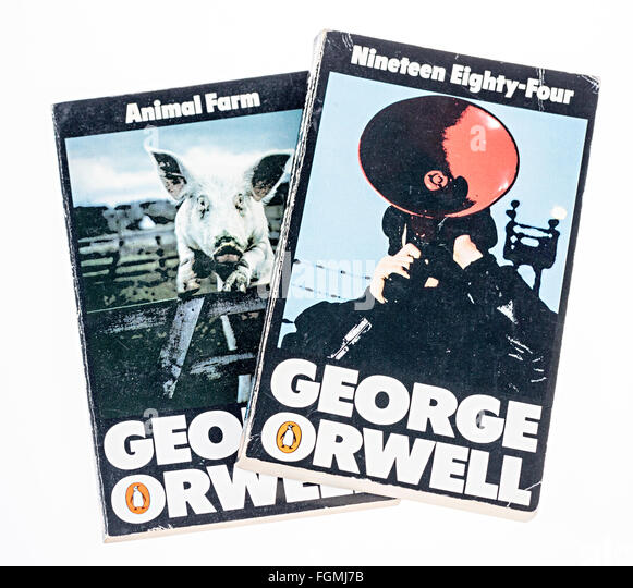 a comparison of nineteen eighty four and animal farm novels by george orwell Nineteen eighty-four: an introduction to and summary of the novel nineteen eighty-four by george orwell encyclopÆdia britannica start your free trial in george orwell: animal farm and nineteen eighty-four impact on culture.