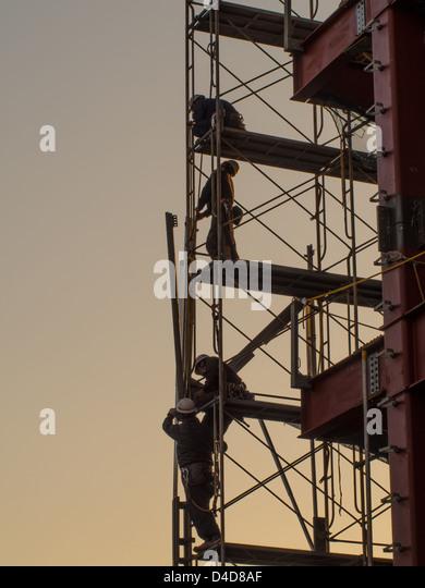 Steel Scaffolding Japan : Scaffold worker stock photos