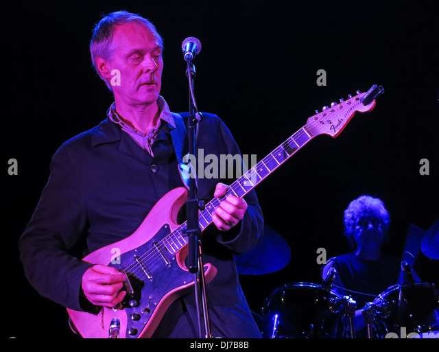 Tom Verlaine from New York based Television, live at the Manchester Academy November 17th 2013 - Stock Image
