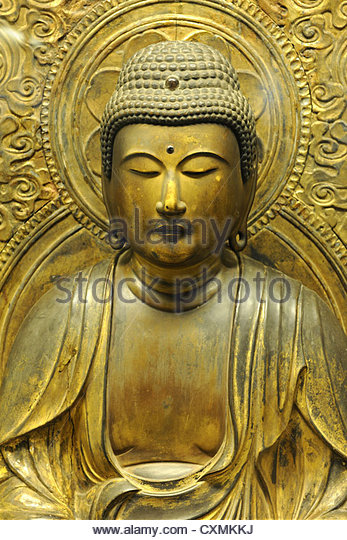 CHICAGO, IL – MARCH 23: Asian Sculpture at the Field Museum of Natural History on March 23, 2012 in Chicago, Illinois - Stock Image