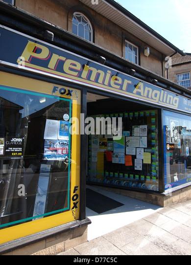 Premier Angling Shop Chippenham - Stock Image