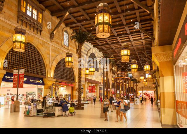Egypt court in the Ibn Battuta Mall,  Dubai City, United Arab Emirates, UAE, Middle East - Stock-Bilder