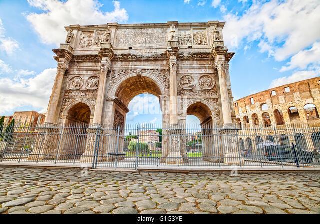 Arco di Costantino Roma - Stock Image