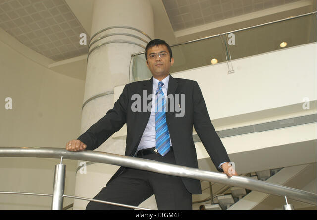 Rahul Saraf prominent real estate developer in Kolkata NO MR - Stock Image