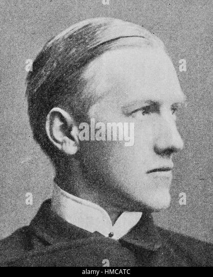 Enno Friedrich Wichard Ulrich von Wilamowitz-Moellendorff, 22 December 1848 - 25 September 1931, was a German classical - Stock Image