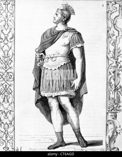 Illustration - Roman soldier - Stock Image