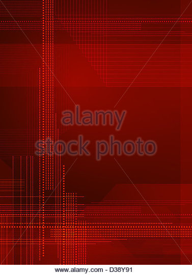 Digital abstract background - Stock Image