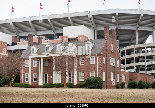 Bryant–Denny Stadium, located in Tuscaloosa, Alabama,USA - Stock Image