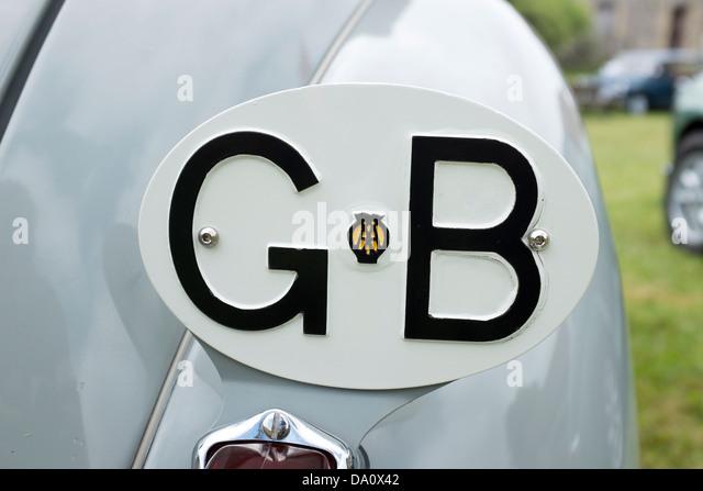 Gb Car Badge Stock Photos Amp Gb Car Badge Stock Images Alamy