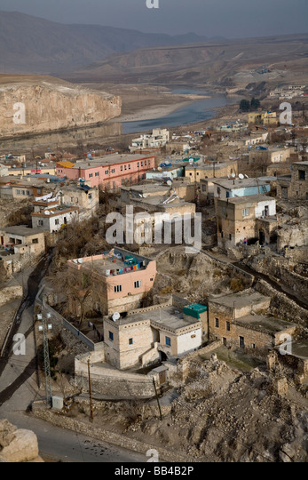 Endangered village of Hasankeyf, Turkey. - Stock Image