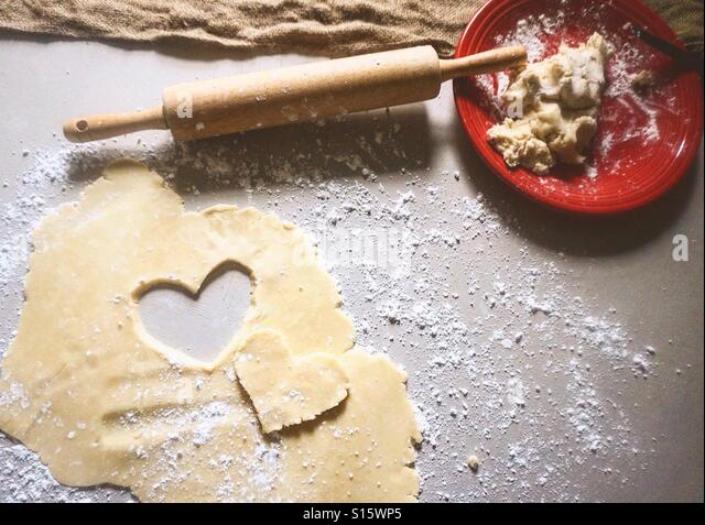 Baking cookies - Stock-Bilder