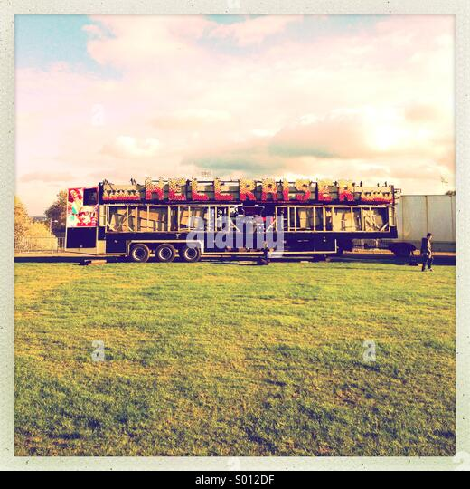Hellraiser at fair - Stock-Bilder