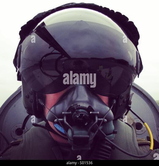 Fast Jet Pilot - Stock Image